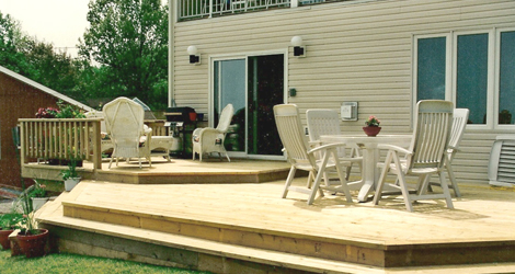 Deck & Patio Designing & Installation
